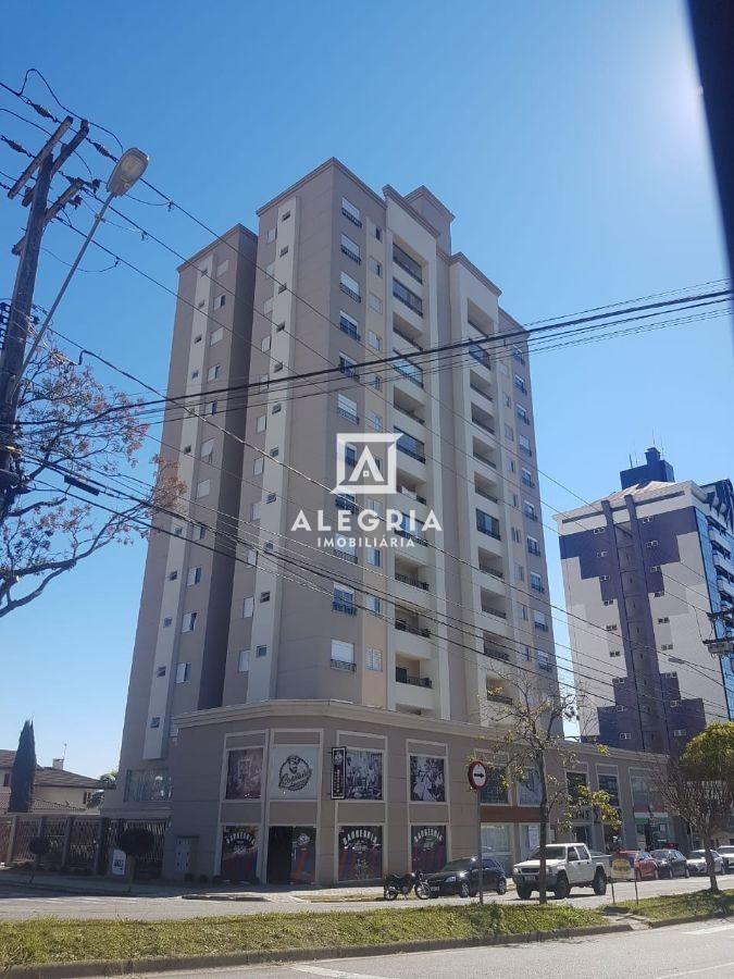 Apartamento 03 Quartos (Sendo 01 Suíte) Centro, 02 Vagas de Garagem em São José dos Pinhais