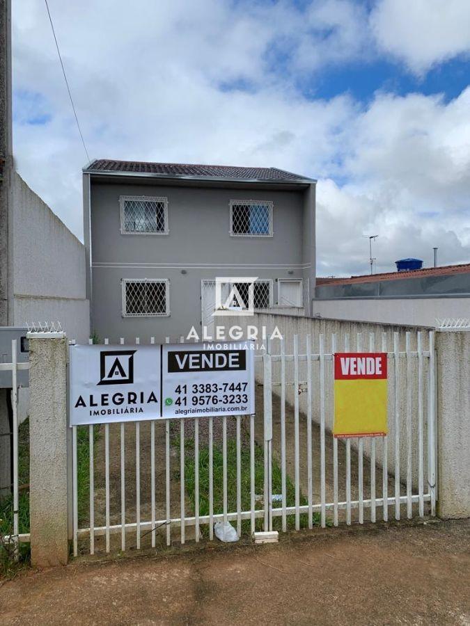 Casa 02 Dormitórios no São Marcos em São José dos Pinhais